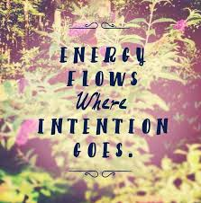 intention energy