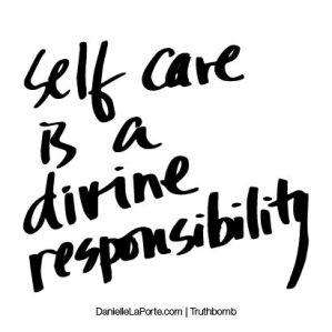 self care divine responsibility