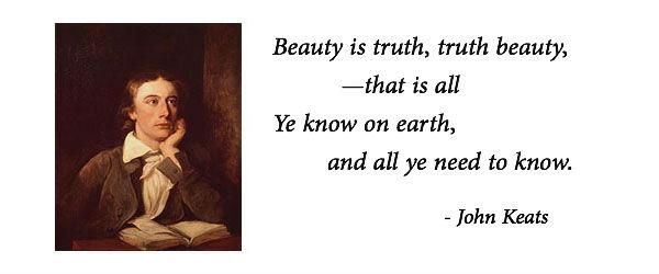 beauty is truth keats