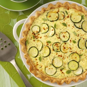zucchini quiche by taste of home