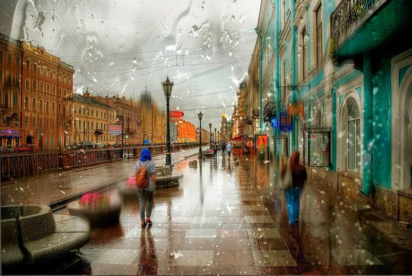 Rain by Eduard Gordeev