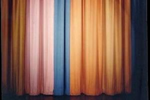 johnny carson curtain