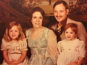 family photo c mid70s